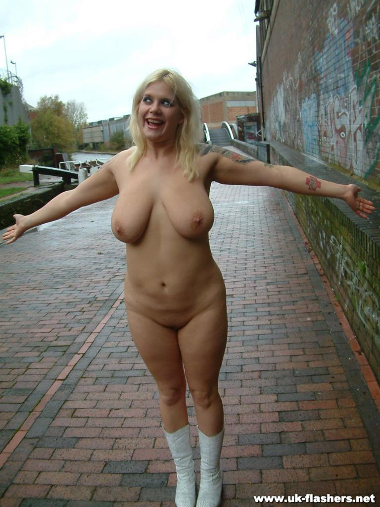 Public naked girl think